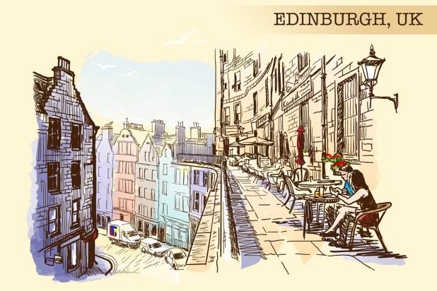 Victoria Street Edinburgo