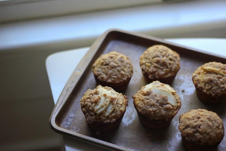 Tart Apple Oat Muffins| Southern Soufflé