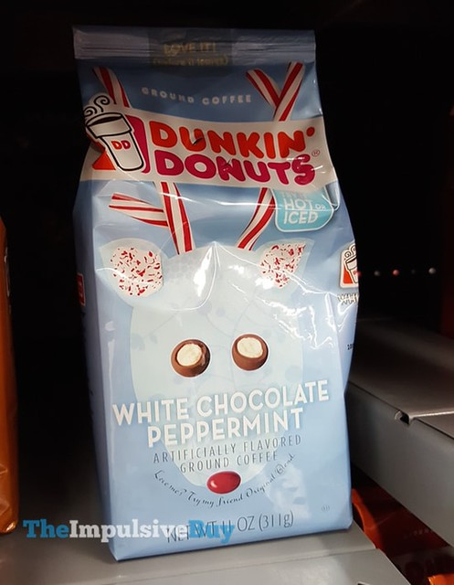 Dunkin' Donuts White Chocolate Pepperming Ground Coffee