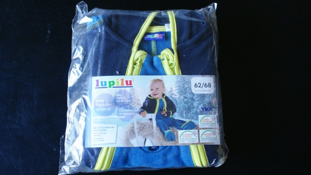 Baby Shoplog Lidl Fleece Overall
