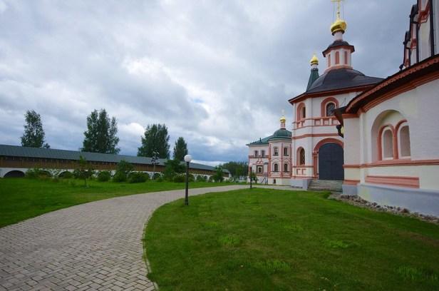 Валдайское озеро, Новгородская область, Россия, Иверский монастырь