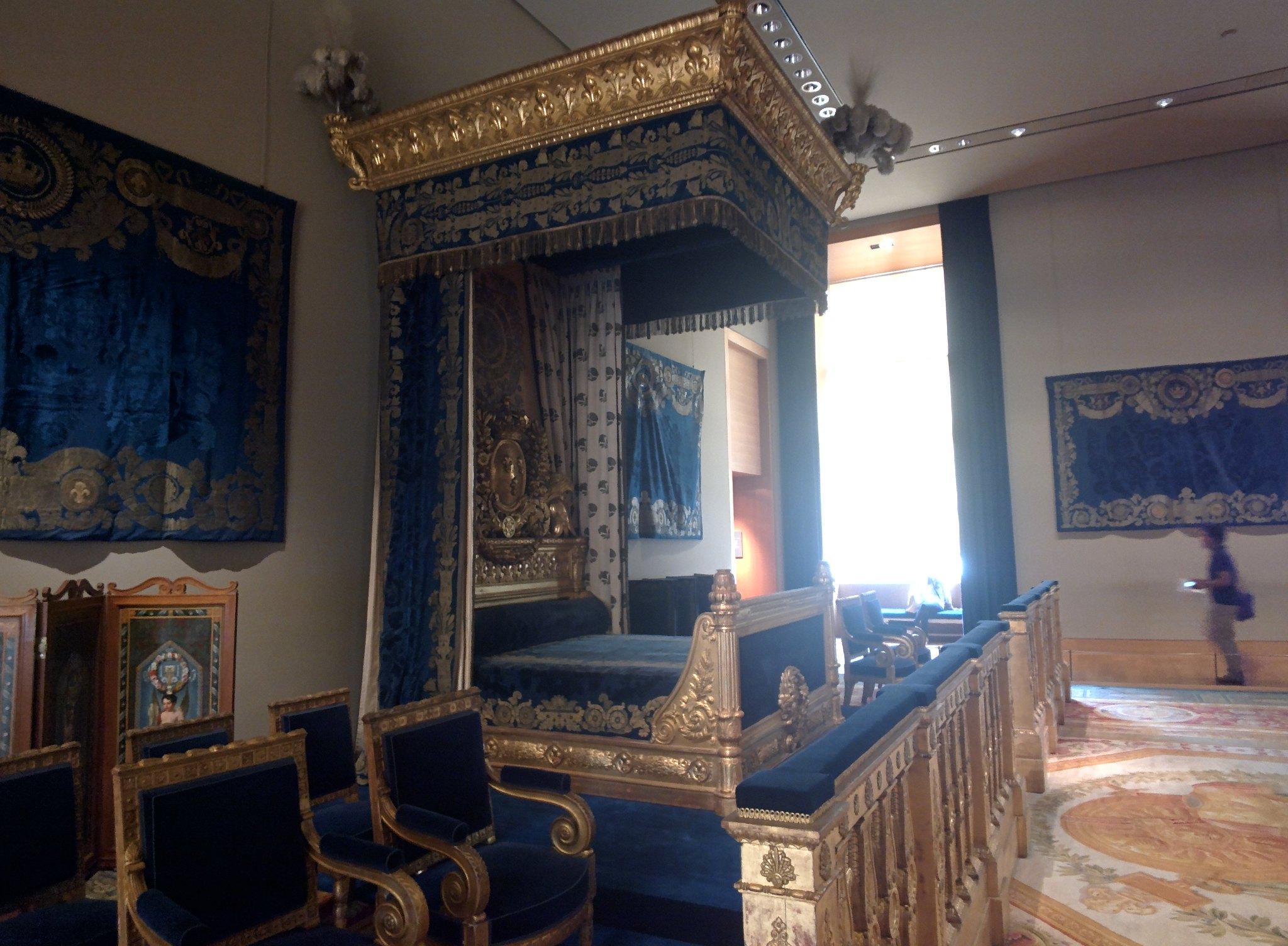 Napoleon III Apartments Louvre throughglass  Flickr  Photo Sharing
