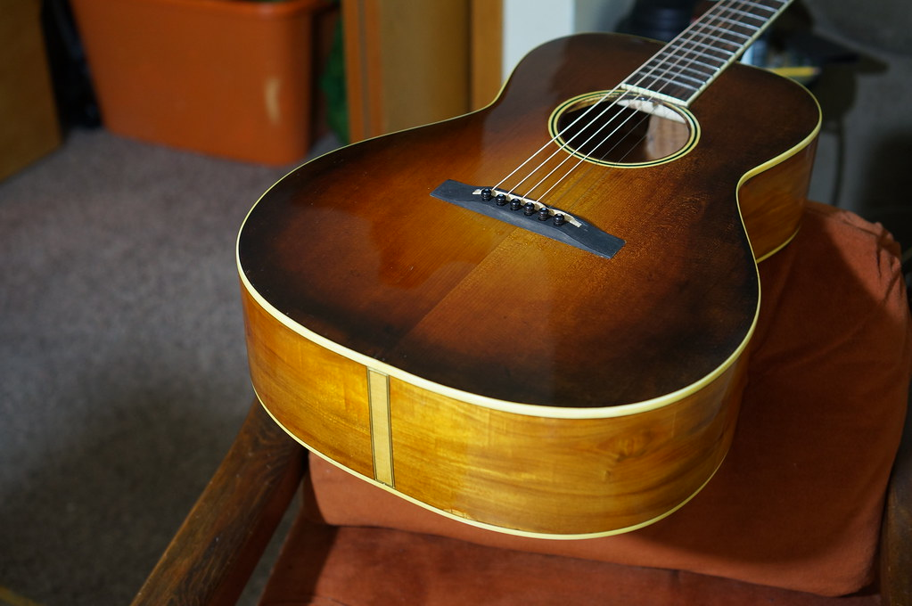 Lacquer Over Shellac Guitar