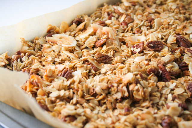 deeply toasted coconut pecan granola [ inthiskitchen.com ]