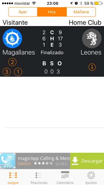 Con-Cafe: App LVBP Hoy