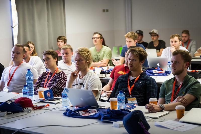 In Vitaly's workshop