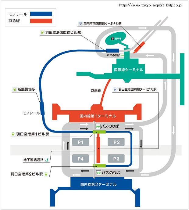 170125 羽田空港ターミナル間電車