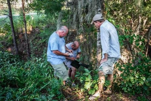 Finding a geocache