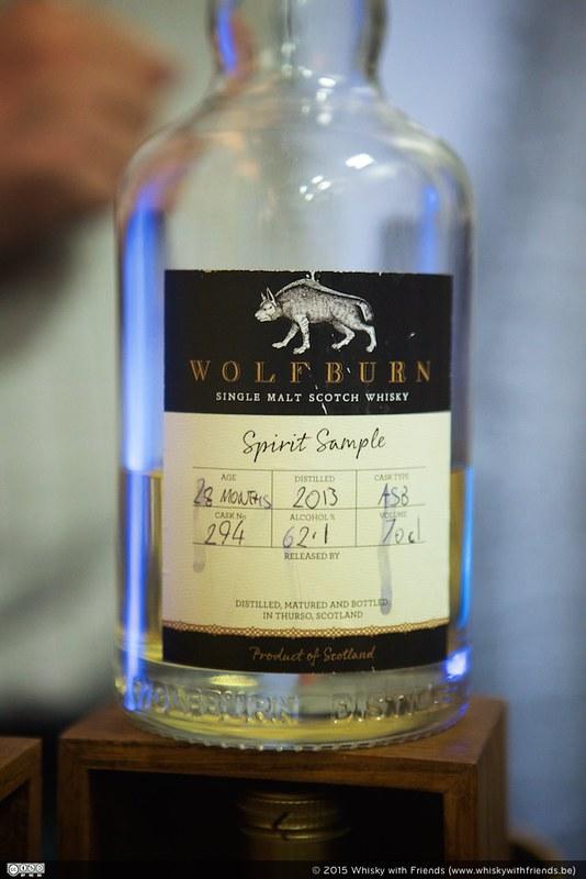 Wolfburn ... nog geen volwaardige whisky, maar nu al een smaakbommetje!