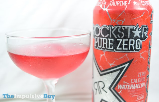 Rockstar Pure Zero Watermelon Energy Drink 2