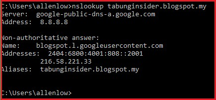 Bypass DNS filtering to access blocked sites through Maxis
