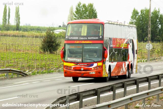Pullman Los Libertadores (Pullman Bus) - Rancagua - Busscar Panorâmico DD / Volvo (BXZP25) (1957)