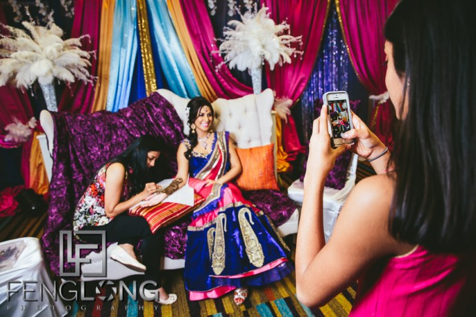Vaishali & Vijay | Mehndi Night | Atlanta Indian Wedding Photographer