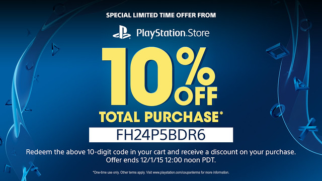 PS Store 10 Percent Off