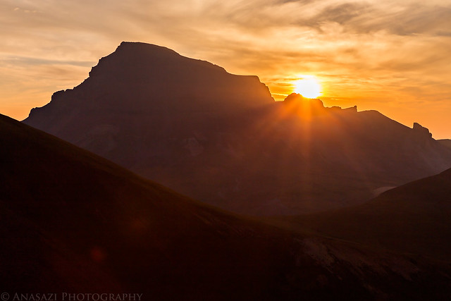 Sunrise Over Uncompahgre