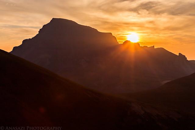 Sunrise Over Uncompahgre