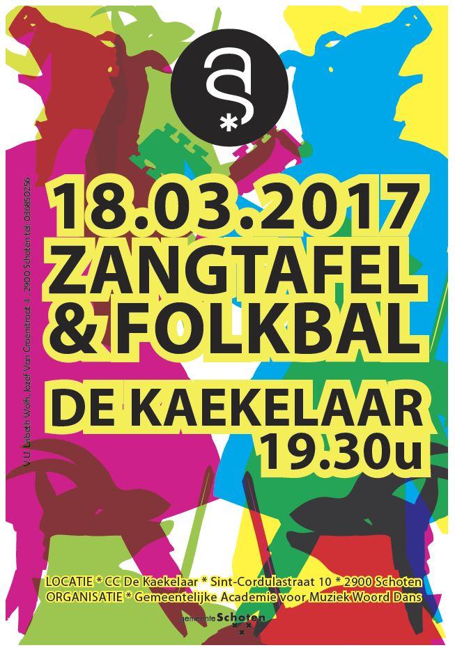 Zangtafel & Folkbal Schoten 2017