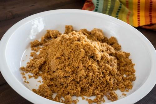 buttery ginger crust