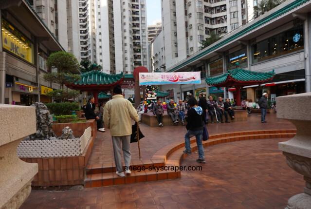 香港仔の広場