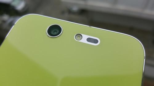 กล้องหลังของของ ZTE Blade S7 มีนูนออกมานิดหน่อย