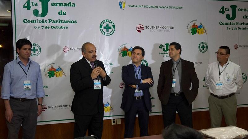 Expositores internacionales participaron en la 4ª Jornada de Comités Paritarios