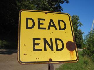 Dead End - close up