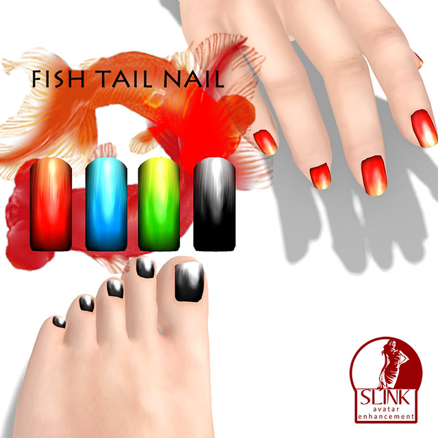 *NAMINOKE*FISH TAIL NAIL