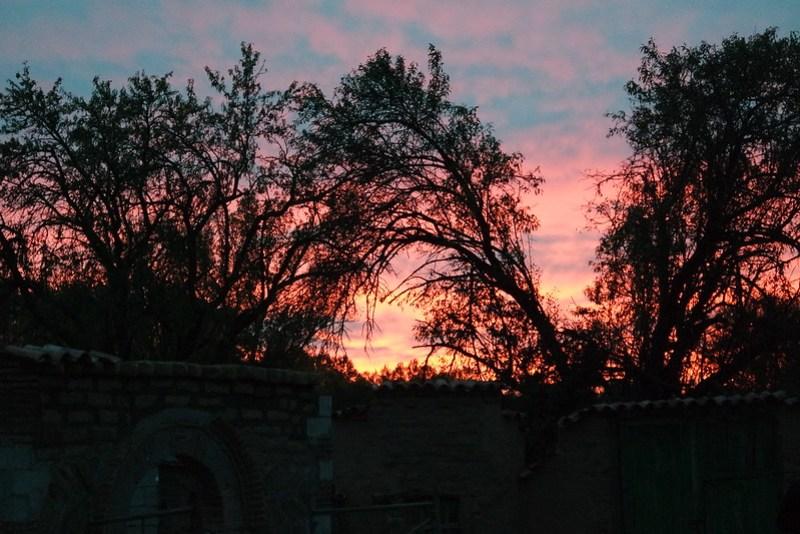 Atardecer en Quintanilla, Burgos