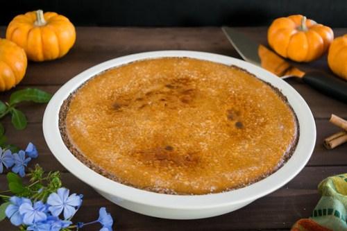 pumpkin pie brûlée