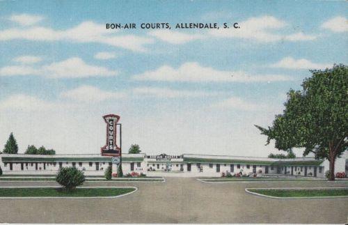Bon-Air Courts Allendale front
