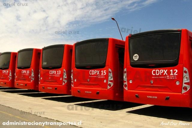 Transantiago - Buses Gran Santiago - Caio Mondego L / Volvo (CDXP16)