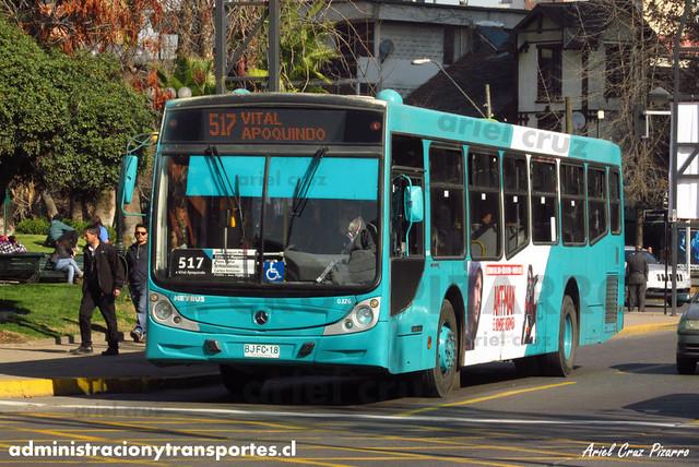 Transantiago - Metbus - Caio Mondego H / Mercedes Benz (BJFC18) (326)
