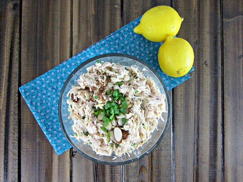 Lemon Almond Chicken Salad