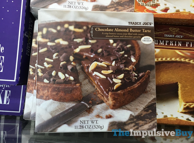 Trader Joe's Chocolate Almond Butter Tarte