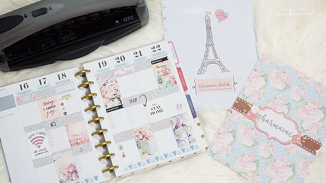 Plan With Me Wk47 | DIY Covers | Happy Planner | LoveCharmaine.com
