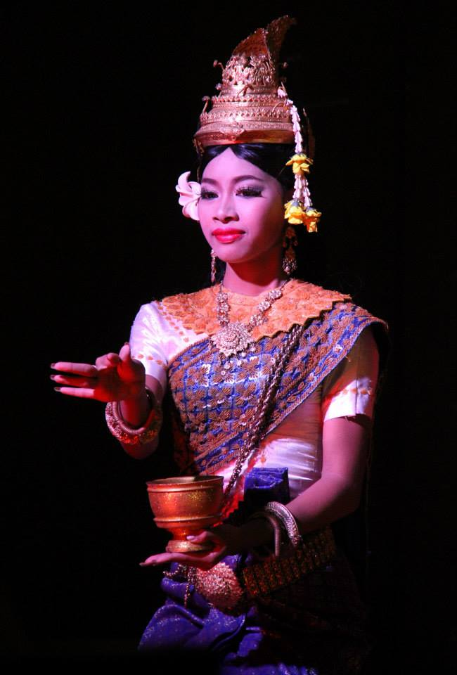 Apsara dance was promoted by the royal family