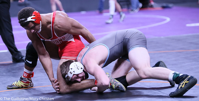 170AA - Semifinal - Solomon Nielsen (Luverne) 37-1 won by decision over Mason Rutt (Tri-City United) 36-3 (Dec 4-3)