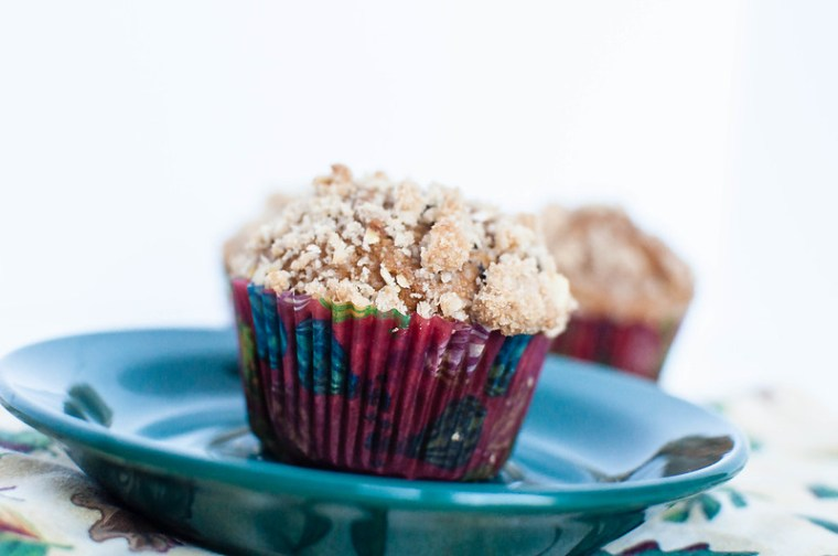 Pumpkin Muffins with Streusel Topping 1
