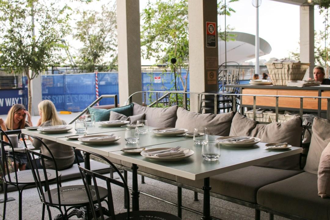 Banskii outdoor seating