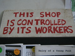 this shop is controlled by its workers