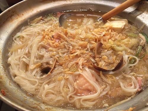 タイスキの〆は麺!@ラオラオ