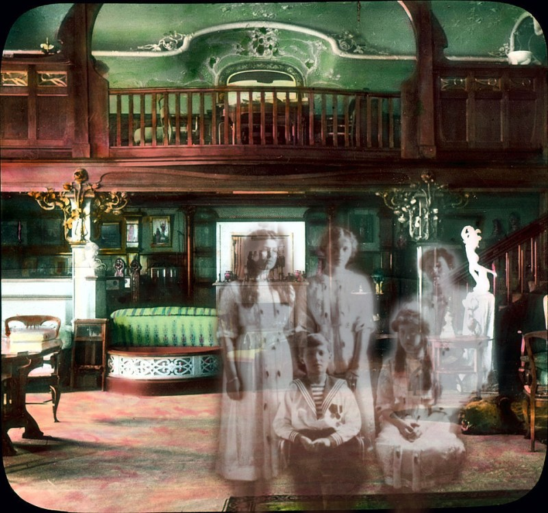 the romanov family and the ghosts of alexander palace