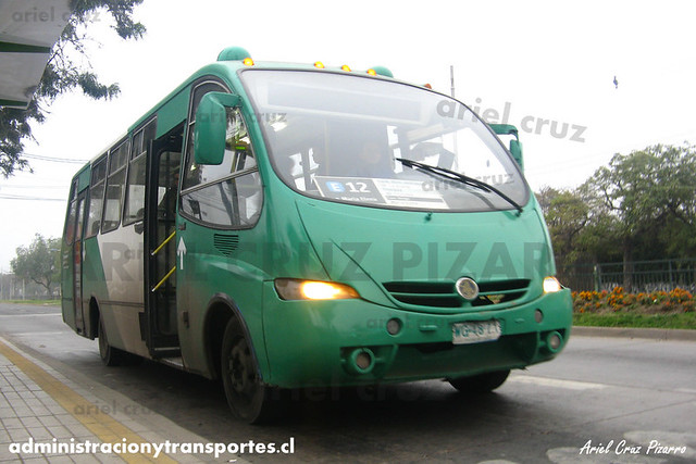 Transantiago - Buses Vule - Metalpar Pucará Evo / Mercedes Benz (WG4871)