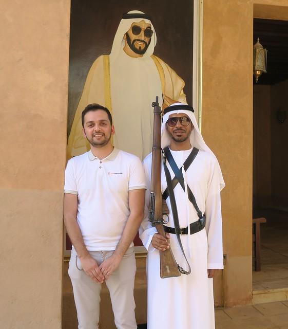zaid guard al ain palace museum