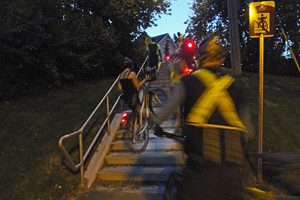 2015 09 Critical Mass 33 mounting Wellington St stairs_300