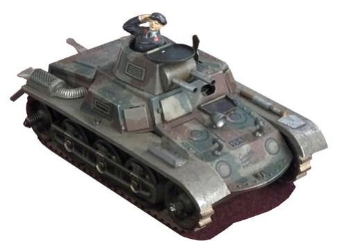 Gescha carro armato Mk.I b