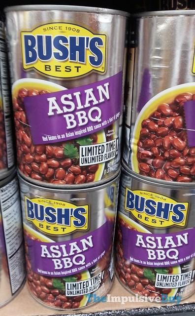 Bush's Best Limited Time Asian BBQ Beans