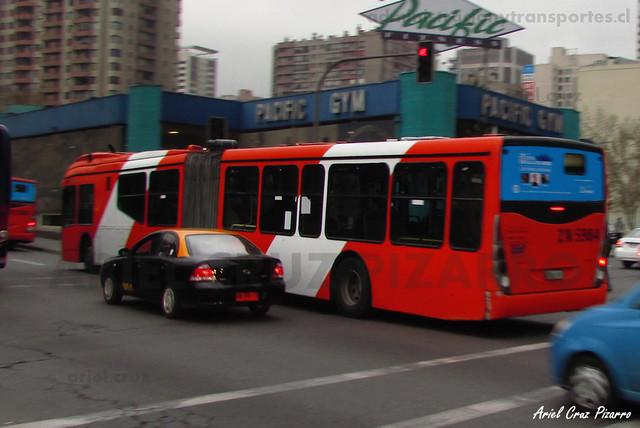 Transantiago - Express de Santiago Uno - Marcopolo Gran Viale / Volvo (ZN5984)