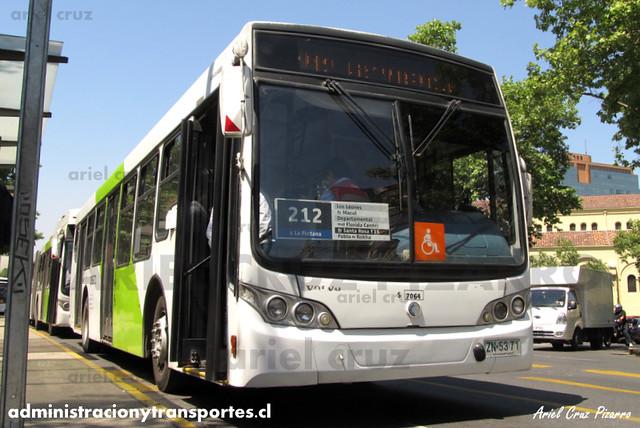 Transantiago - Subus Chile - Caio Mondego L / Volvo (ZN5371) (7064)