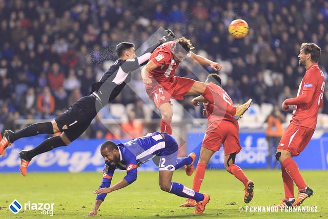 Liga BBVA. R.C.Deportivo 1 - Sevilla 1